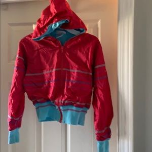 American Girl hooded jacket. Size M